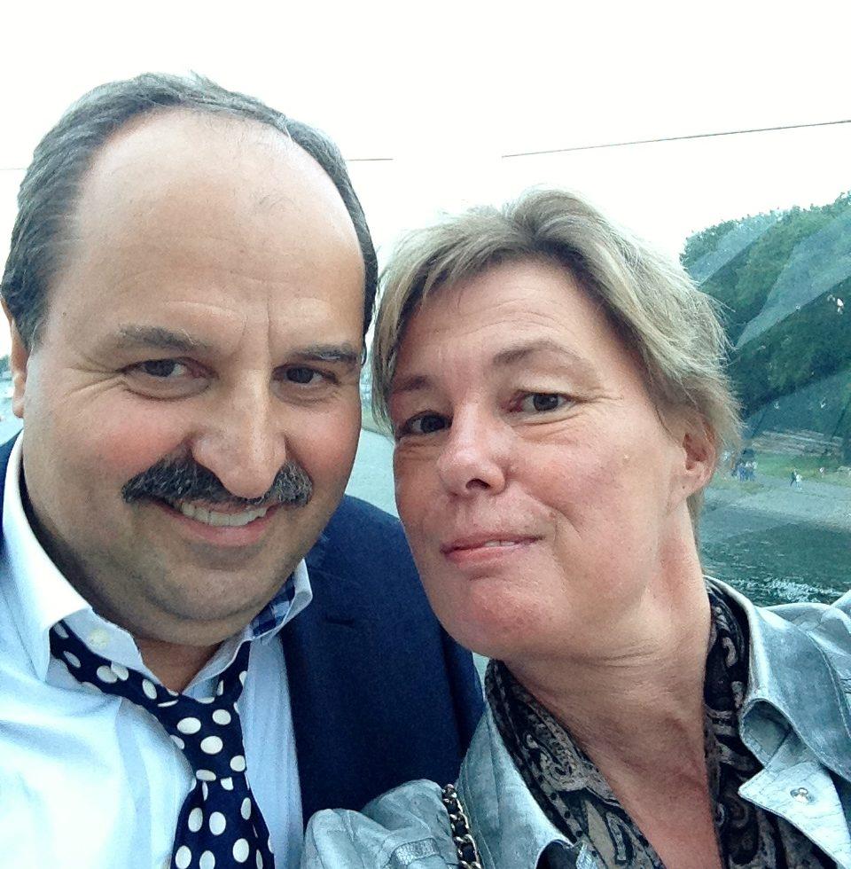 Brina Stein und Johann Lafer
