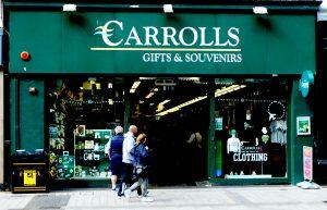 Souvenirladen in Belfast