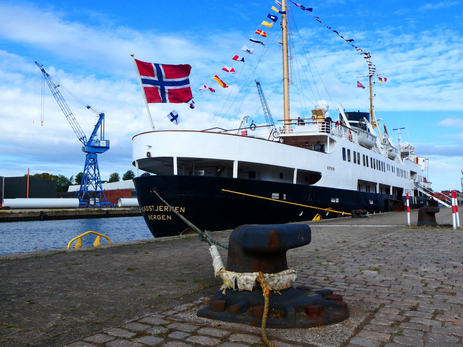 MS Nordstjernen Besuch von Brina Stein